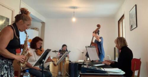 Rehearsal Elles - Ambleteuse